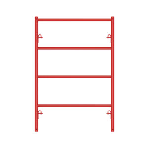TS487299 scaffold shoring frame in steel