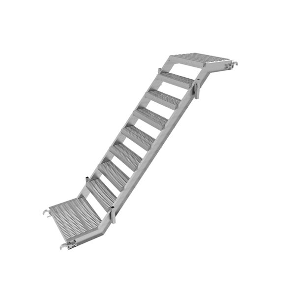 AT6084A scaffolding access systems aluminum stairway