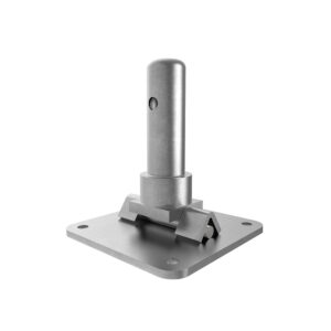 DYX35055A scaffolding shoring base plate swivel