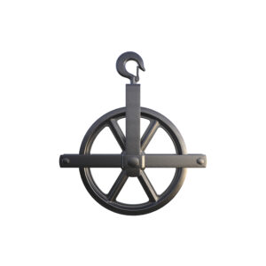 HOIST-12 scaffolding accessories hoist arm wheel and post gin wheel