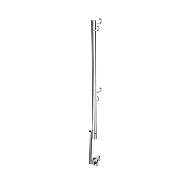 HLZ080 Scaffolding accessories guardrail post with wedge clamp
