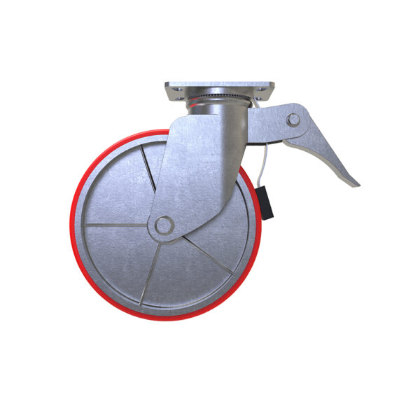 "Castor 12"" scaffolding accessories caster heavy duty 12 inch"